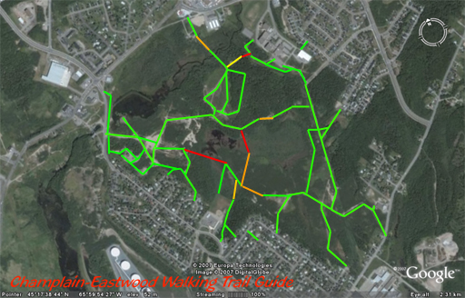 The Trails of Champlain Heights