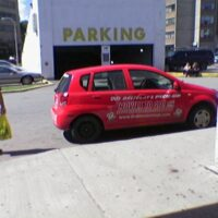 Car in Loading Zone