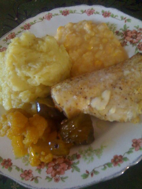 Haddock and Potato Dinner