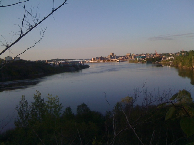City from the Reversing Falls