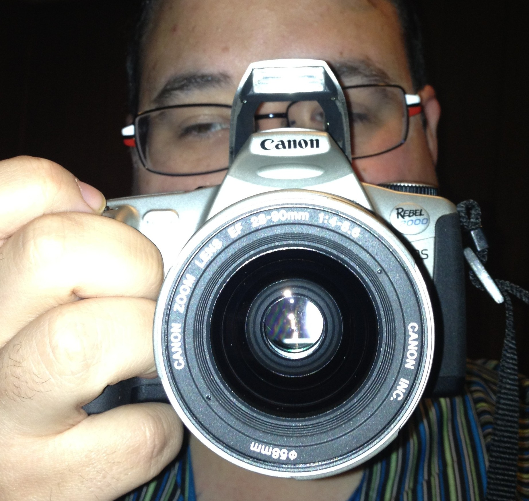 My Canon Rebel 2000 SLR