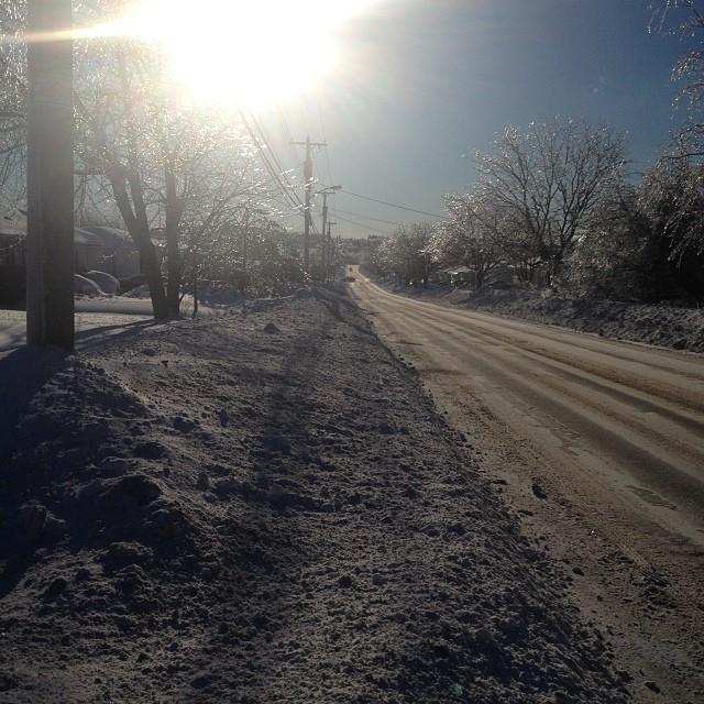 (N)Ice sunny day!