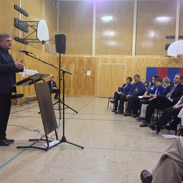 At the Saint John-East PC Nomination.