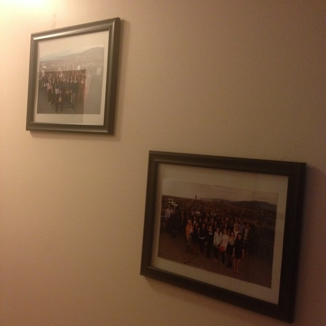 Finally got around to framing my @ContikiCAN group photos. #Whirl2010 #Experience2013