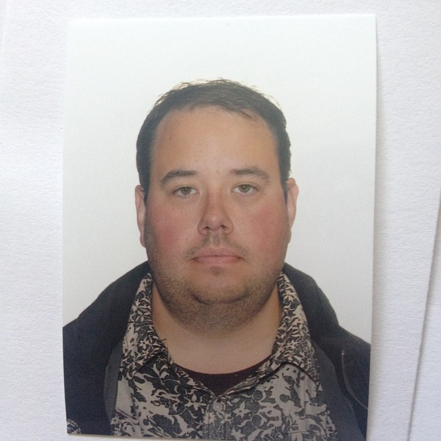 Got my photo done to renew my passport today. Perhaps customs will feel sorry for me with how bad this looks.