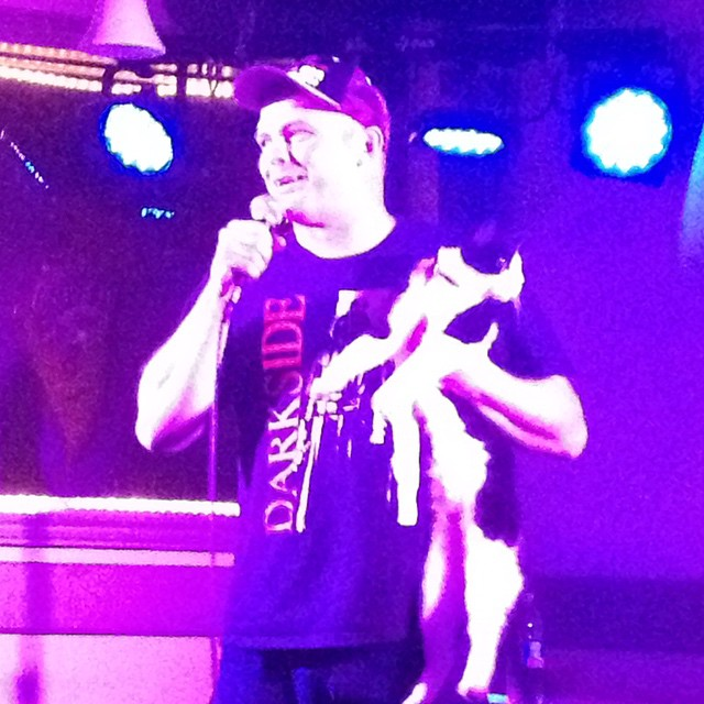 Stand up comedy with pussy.