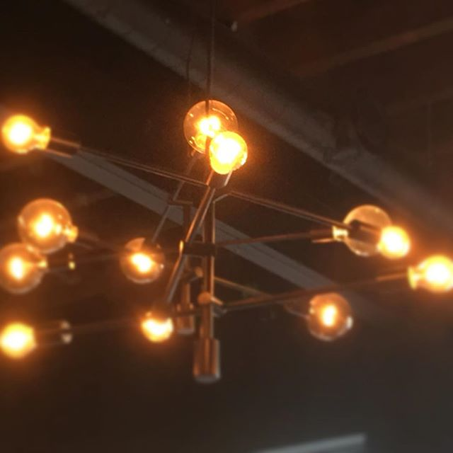 These lights are so beautiful. #saintawesome #portcitypubcrawl