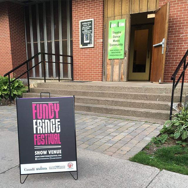 Up next for #fundyfringe at the Interaction/Sanctuary (Corner of Queen/Germain) The Waiting Gentlewoman 8pm and Cardboard Countess 8:15pm #bingethefringe