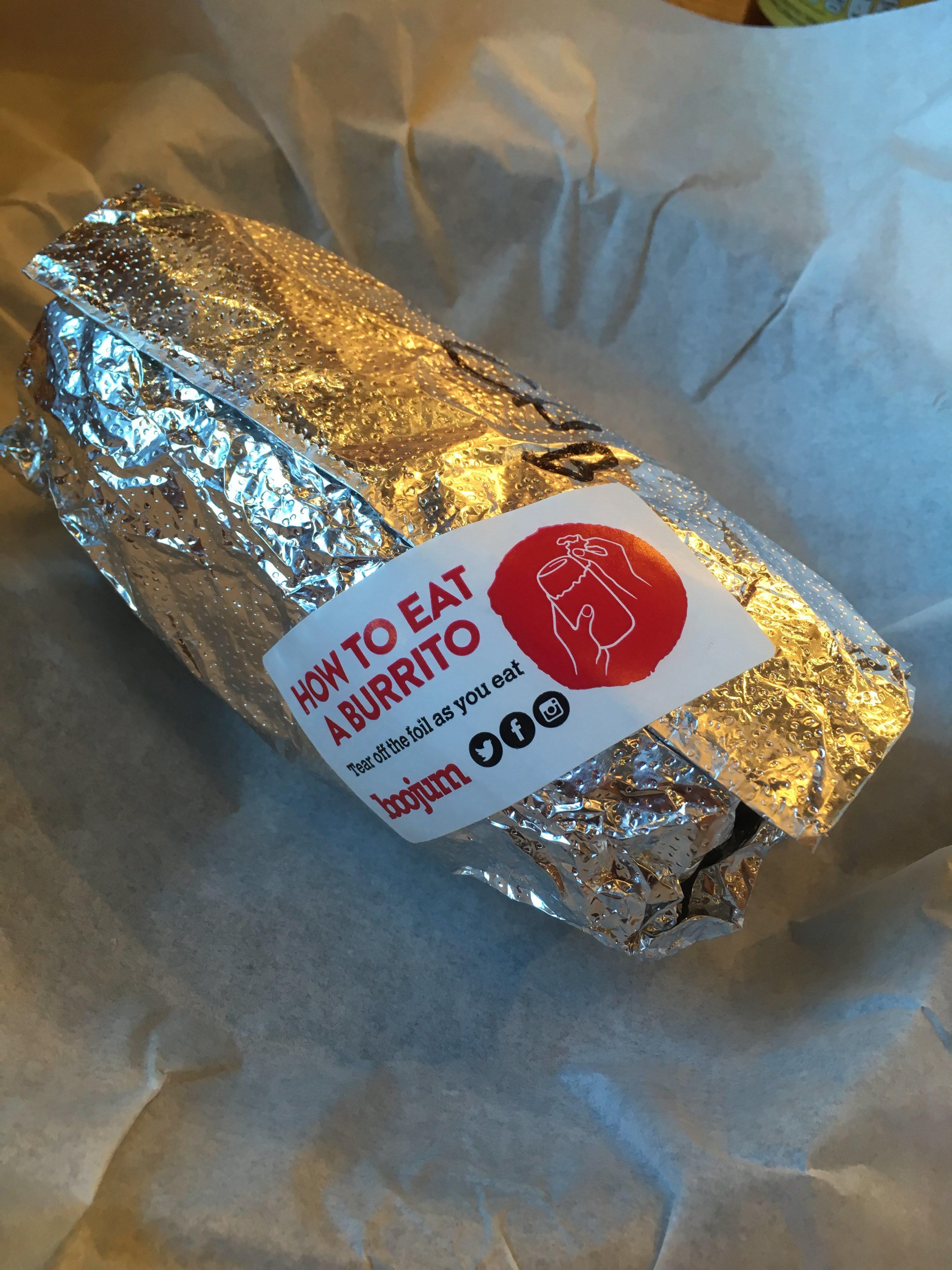Mmm... Burrito